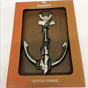 Tommy Bahama  Bottle Cap Opener Anchor Metal